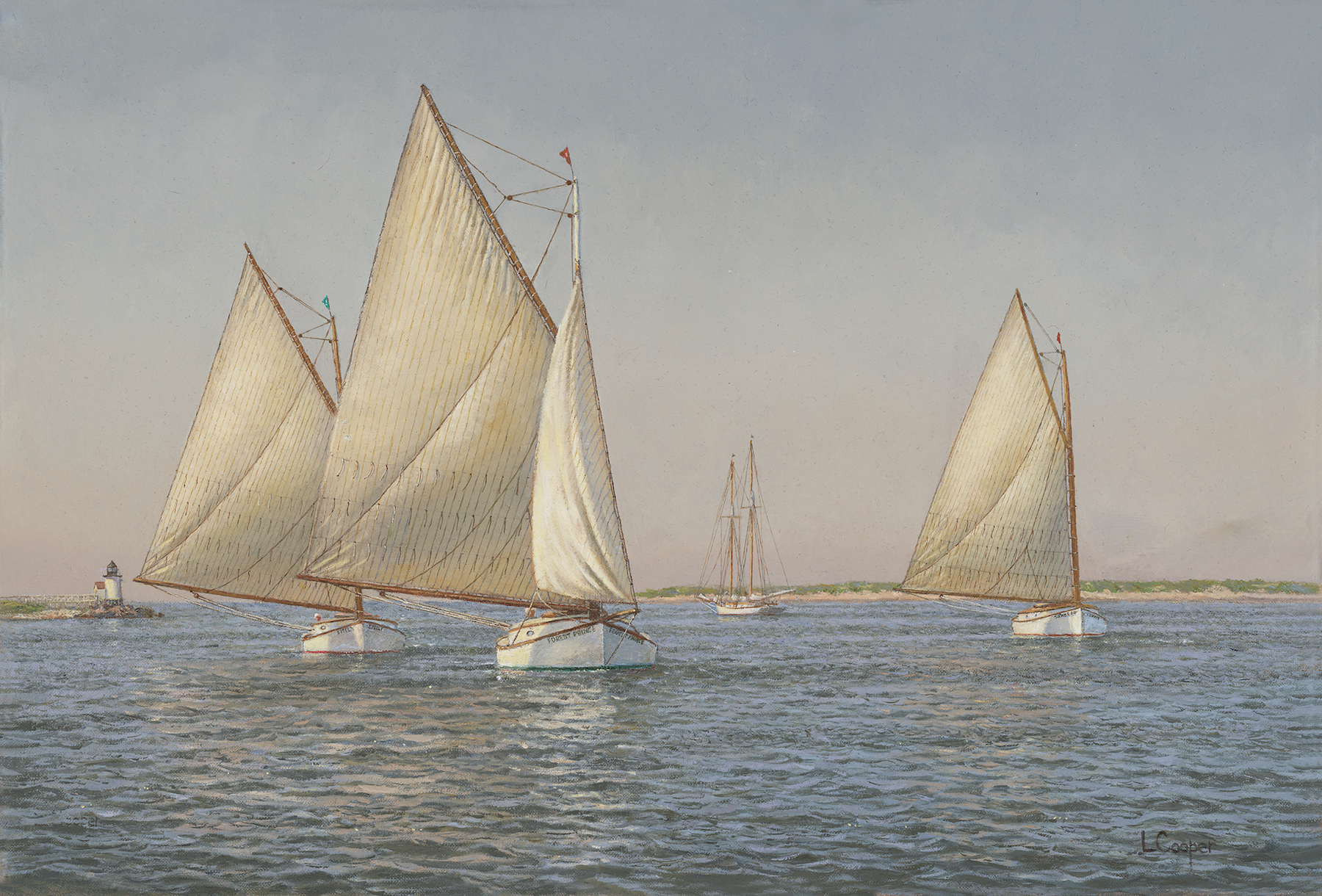 Scallopers Off Nantucket